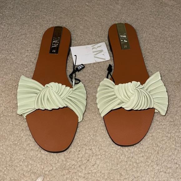 ZARA bow sandal ❤️